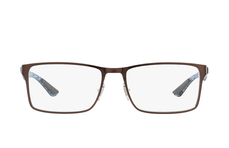 Ray-Ban  eyeglasses RX8415 MALE 006 rb8415 茶色 8053672558272
