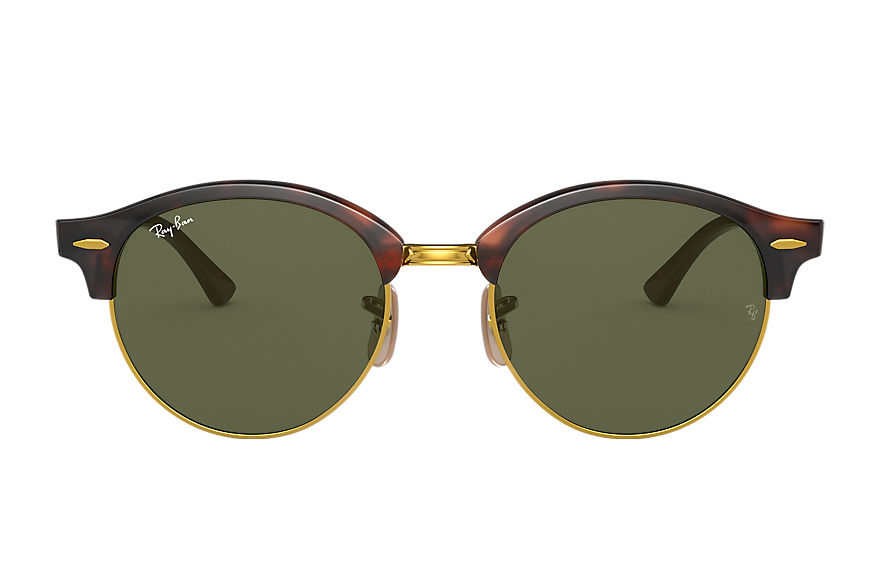 Ray-Ban  sunglasses RB4246 UNISEX 004 clubround classic tortoise 8053672559699