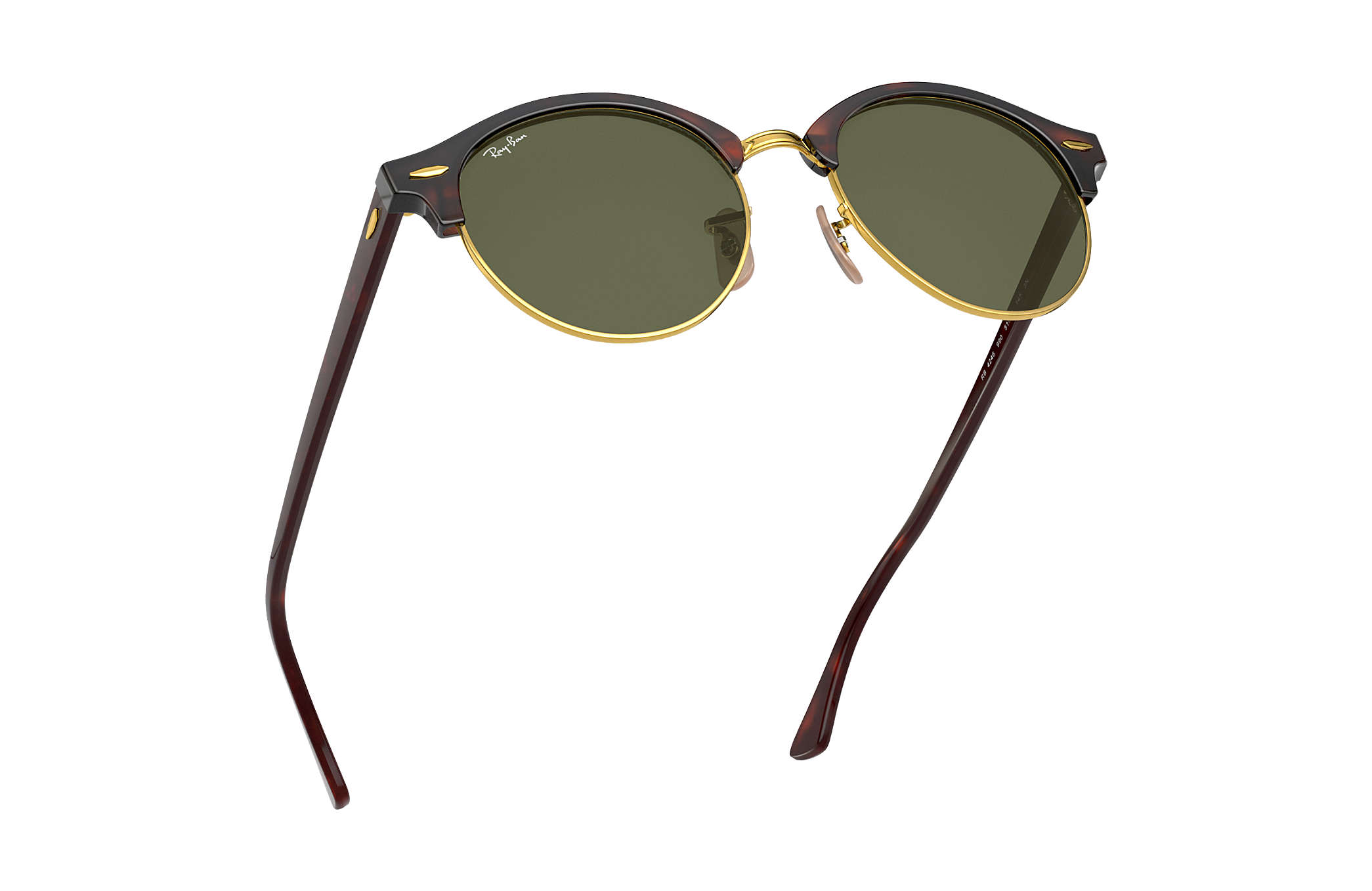 79c7fb42b3 Ray-Ban Clubround Classic RB4246 Tortoise - Acetate - Green Lenses ...