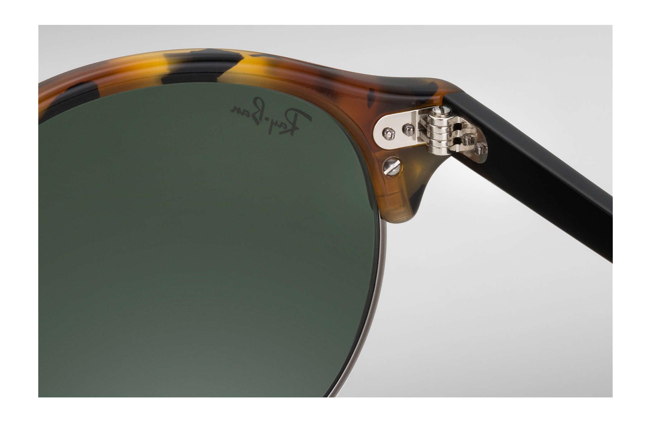f31511001f03fe Ray-Ban Clubround Classic RB4246 Carey - Acetato - Lentes Verde ...