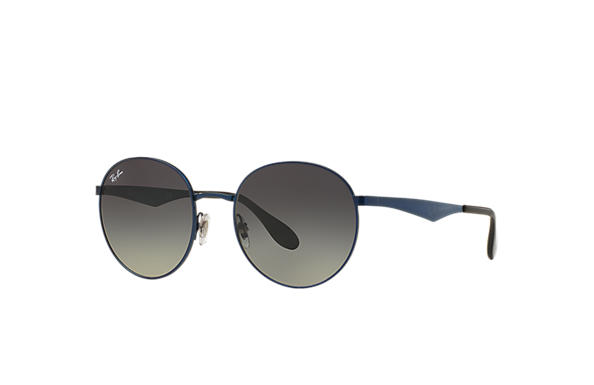 f218ebc7343a0 Ray-Ban RB3537 Blue - Metal - Grey Lenses - 0RB3537185 1151