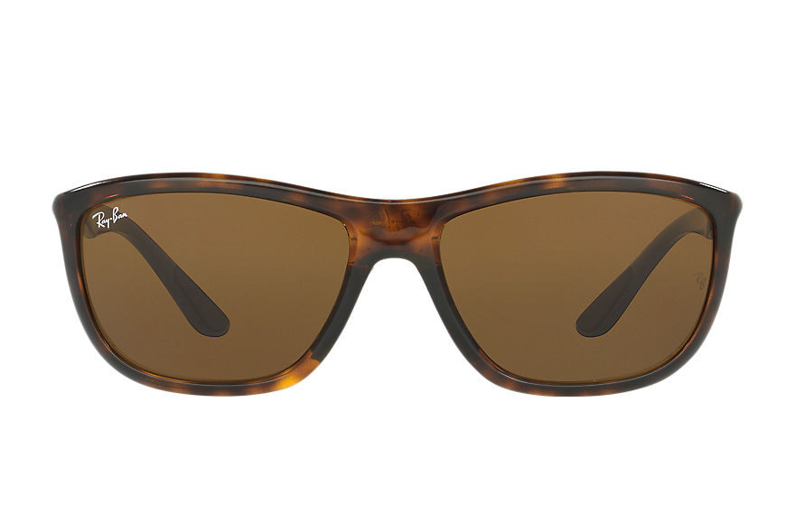 Ray-Ban RB8351 Tortoise with Brown Classic B-15 lens