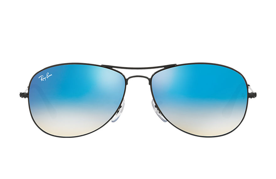 Ray-Ban Gafas-de-sol COCKPIT FLASH LENSES GRADIENT Negro con lente Azul Gradient Flash