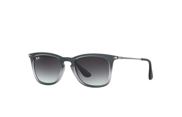7b2f0c9bfc2 Ray-Ban RB4221 Black - Nylon - Grey Lenses - 0RB4221622 8G50