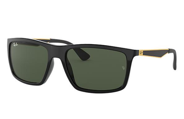 aa826f287f263 Ray-Ban RB4228 Black - Nylon - Green Lenses - 0RB4228601 7158   Ray-Ban® USA