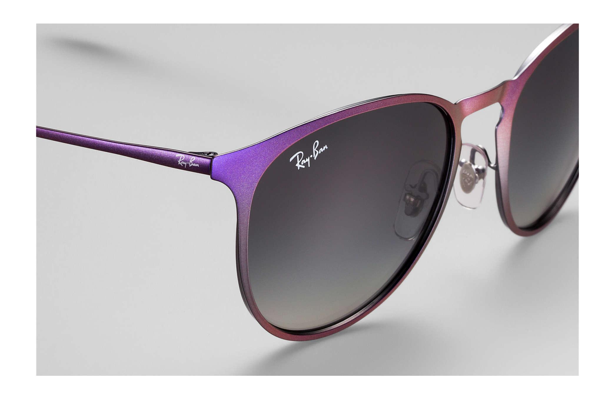 ray ban erika braun violett