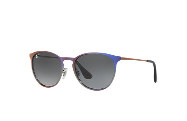 Ray-Ban ERIKA METAL Silver with Grey Gradient lens