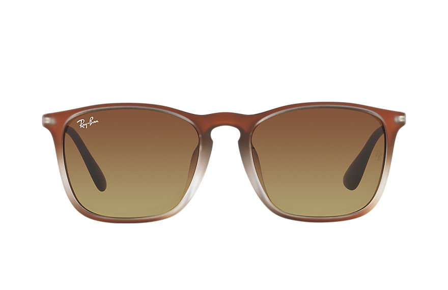 Ray-Ban  sunglasses RB4187F UNISEX 014 chris 啡色 8053672566727