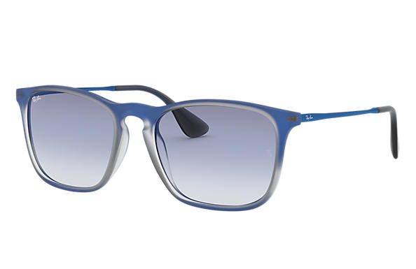 Ray-Ban 0RB4187F-CHRIS Blue,Grey; Blue SUN