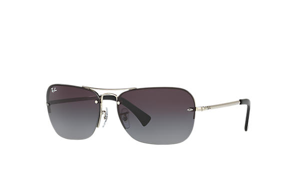 Ray-Ban 0RB3541-RB3541 Argent SUN