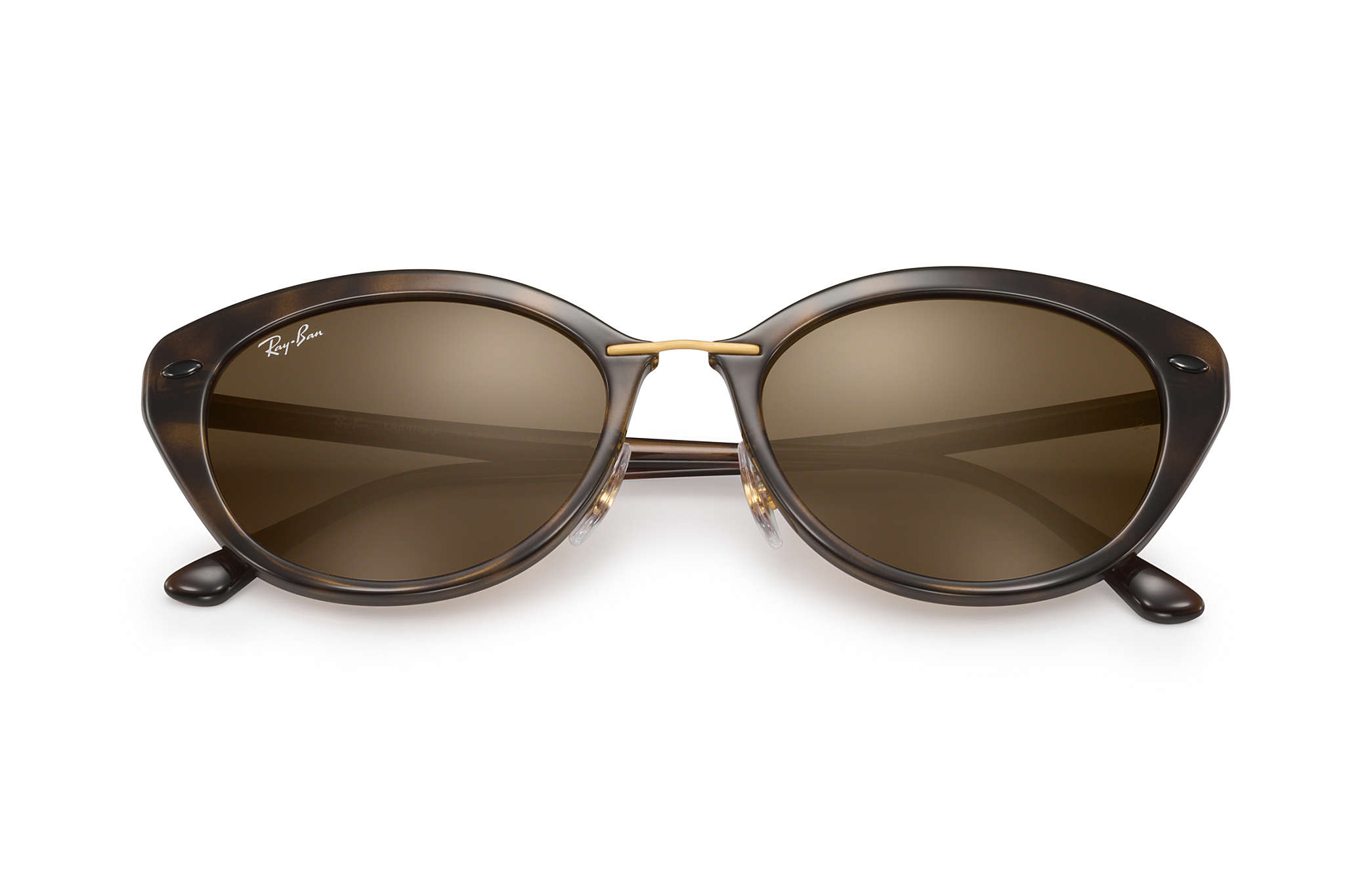 ed25b6139fc Ray-Ban RB4250 Tortoise - LightRay Titanium - Brown Lenses ...