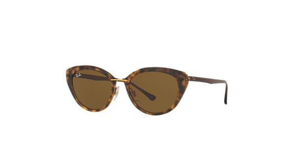 7287dca5d9b Ray-Ban RB4250 Tortoise - LightRay Titanium - Brown Lenses -  0RB4250710 7352