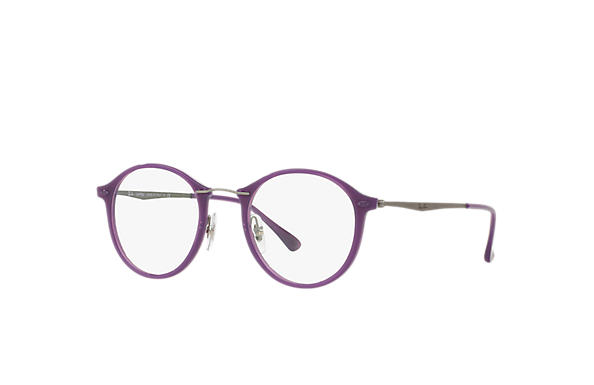 Ray-Ban 0RX7073-RB7073 Violett; Blågrå OPTICAL