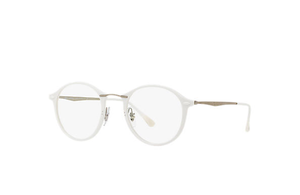 Ray-Ban 0RX7073-RB7073 White; Silver OPTICAL