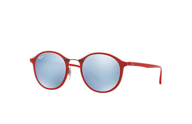 af3b9f644d Ray-Ban RB4242 Red - LightRay Titanium - Silver Lenses ...