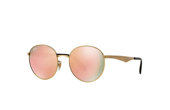 Ray-Ban 0RB3537-RB3537 Gold SUN