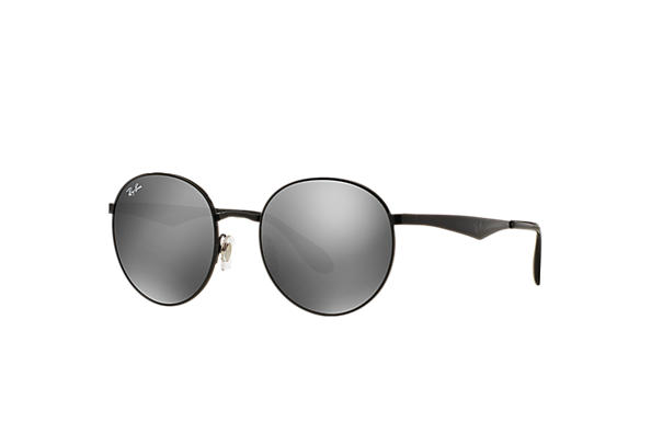 0a64cd97b692a Ray-Ban RB3537 Black - Metal - Grey Lenses - 0RB3537002 6G51