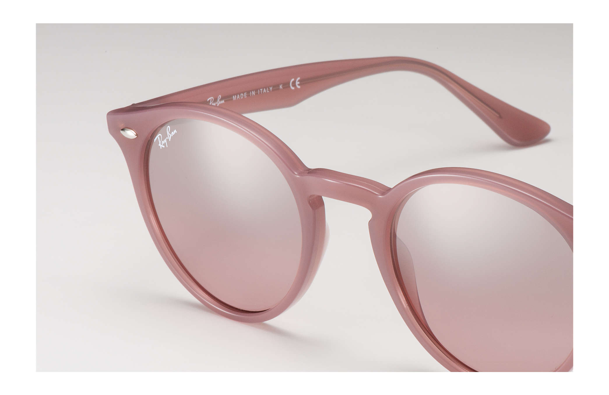 9e0cea12d5151 Ray-Ban RB2180 Pink - Acetate - Silver Pink Lenses - 0RB218062297E49 ...