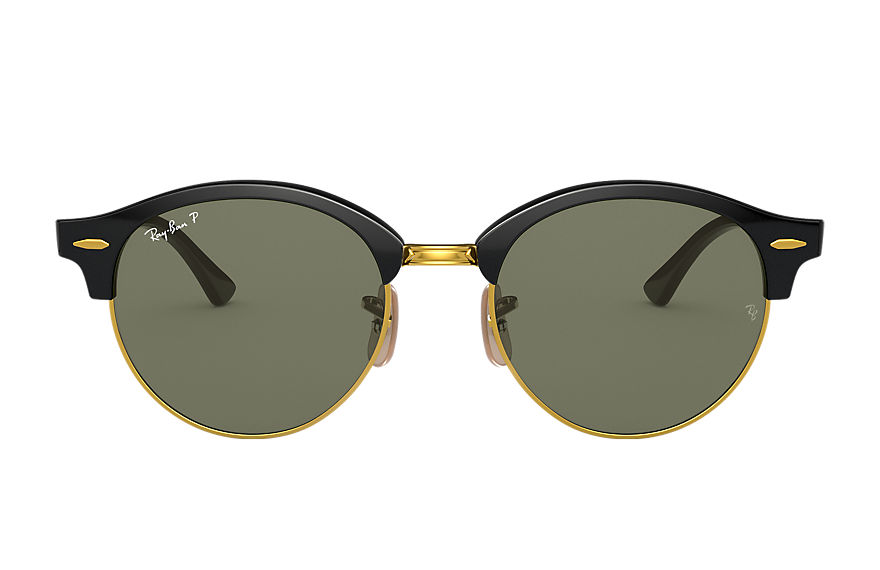 Ray-Ban  occhiali da sole RB4246 UNISEX 005 clubround classic nero 8053672580945