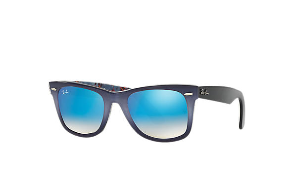 Ray-Ban 0RB2140-ORIGINAL WAYFARER FLORAL Grey,Multicolor; Blue,Multicolor SUN