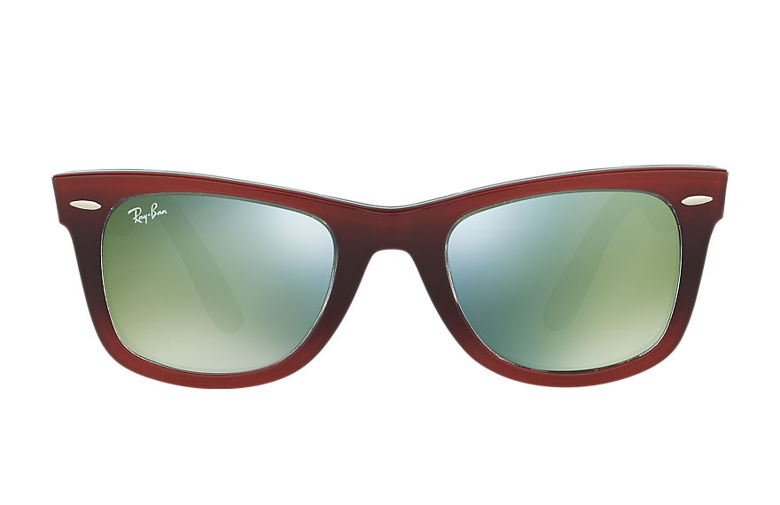 Ray-Ban Sunglasses ORIGINAL WAYFARER PIXEL Red with Green Mirror lens