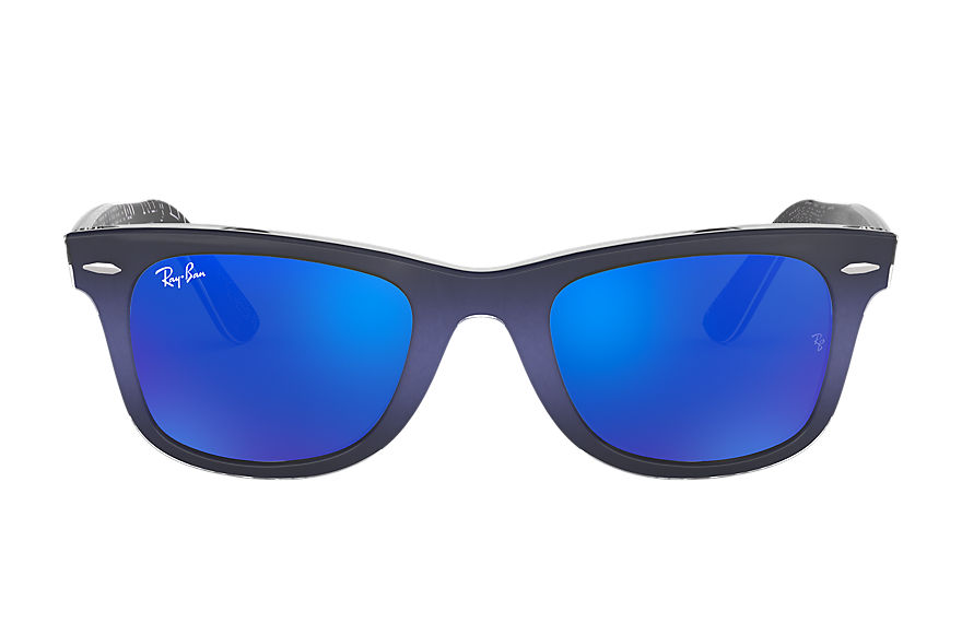 Ray-Ban  sunglasses RB2140 UNISEX 124 original wayfarer pixel blue 8053672581270