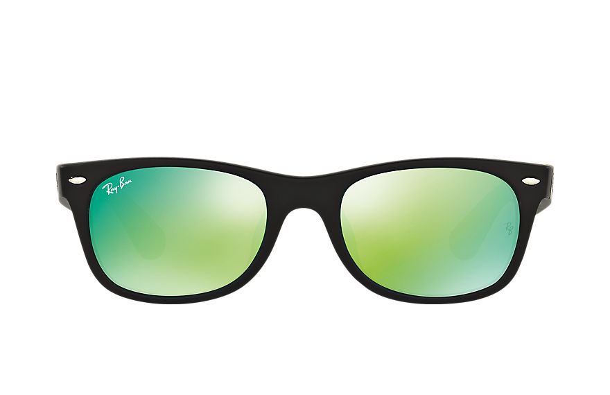 Ray-Ban  sunglasses RB2132F UNISEX 030 新徒步旅行者·炫彩 黑色 8053672581621