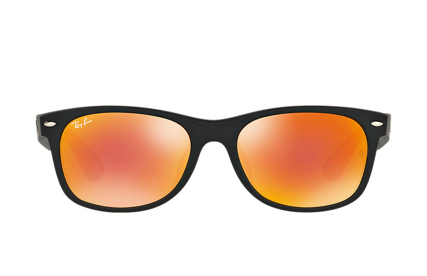 Ray-Ban  sunglasses RB2132F UNISEX 032 新徒步旅行者·炫彩 黑色 8053672581652
