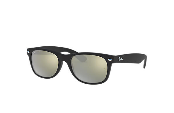 Ray-Ban 0RB2132F-NEW WAYFARER FLASH Black SUN