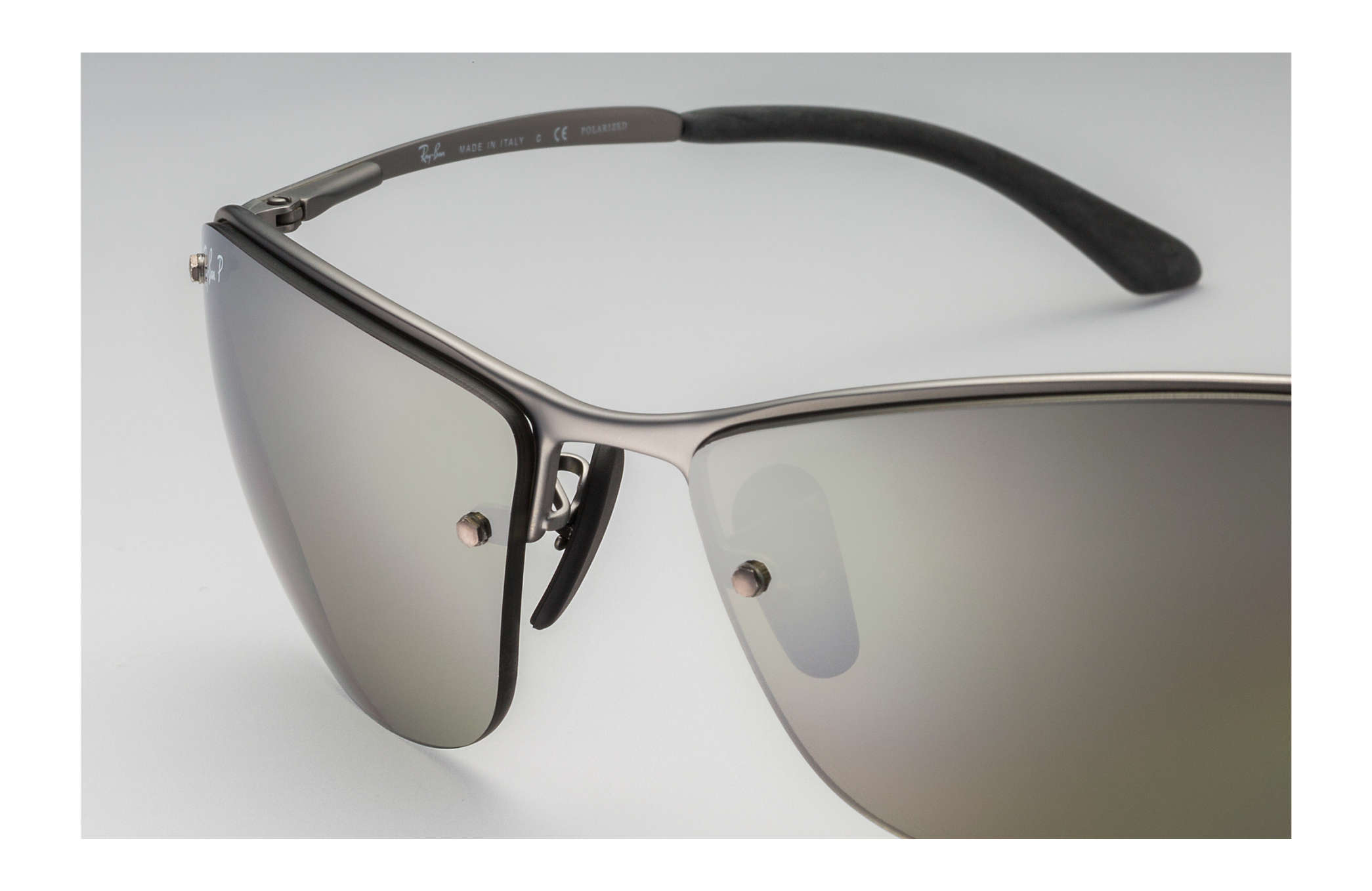 326363b557 Ray-Ban Rb3542 Chromance RB3542 Gunmetal - Metal - Silver Polarized ...
