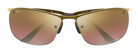 Ray-Ban RB3542 Chromance Brown with Purple Mirror Chromance lens