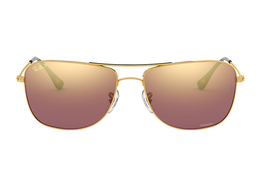 Ray-Ban  sunglasses RB3543 UNISEX 001 rb3543 chromance goud 8053672582512