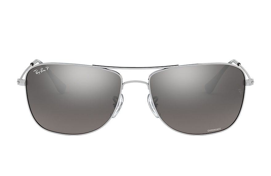 Ray-Ban  sunglasses RB3543 UNISEX 002 rb3543 chromance zilver 8053672582529
