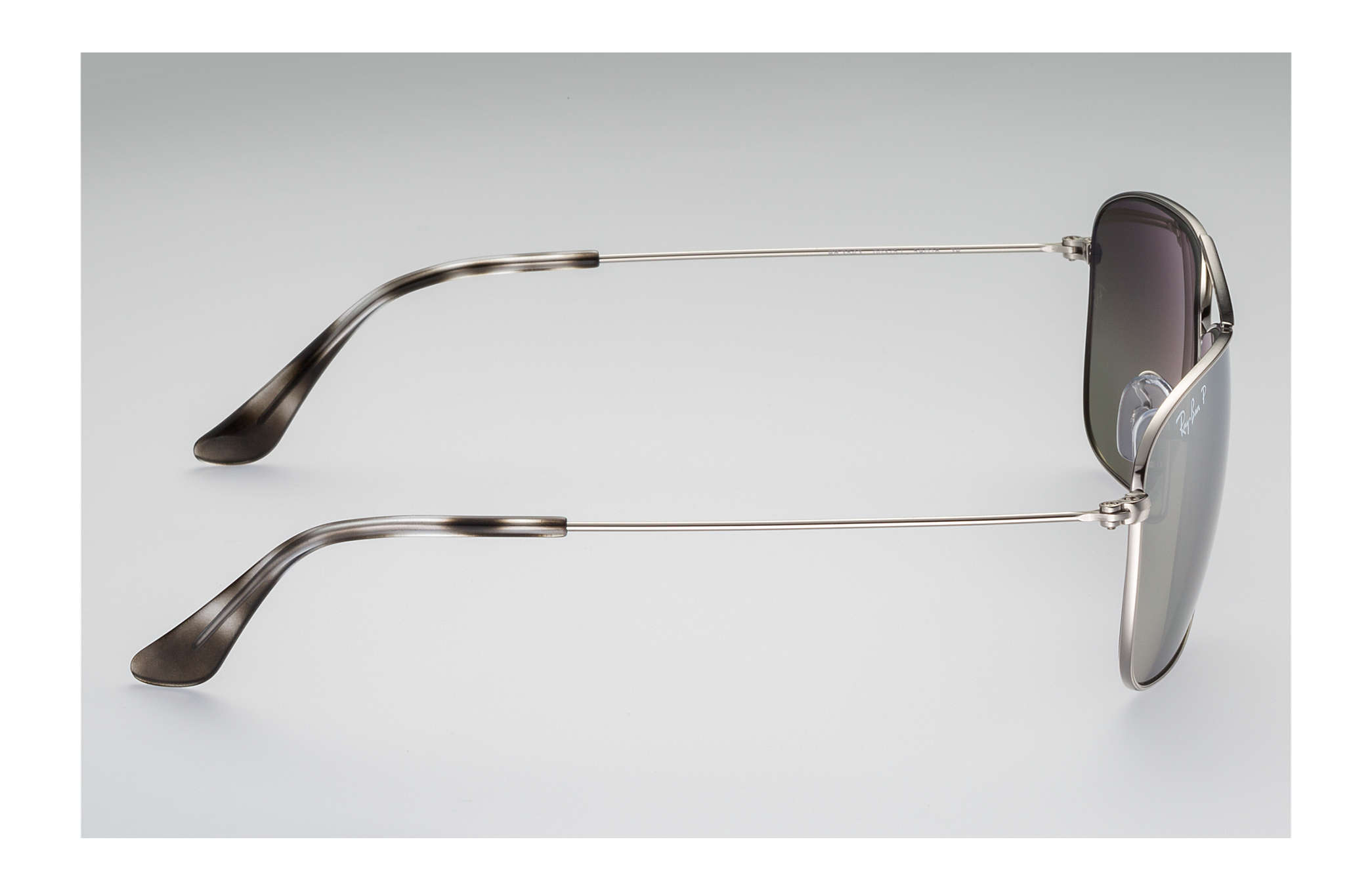 6fa53d3d16c9e Ray-Ban Rb3543 Chromance RB3543 Silver - Metal - Silver Polarized ...
