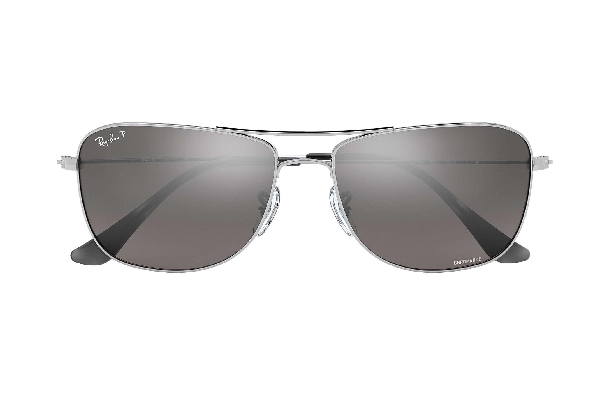 18dfb8724a7 Ray-Ban Rb3543 Chromance RB3543 Silver - Metal - Silver Polarized ...