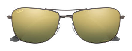 Ray-Ban RB3543 Chromance Gunmetal with Green Mirror Chromance lens