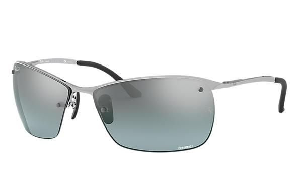 738e03065d4 Ray-Ban Rb3544 Chromance RB3544 Silver - Metal - Grey Polarized ...