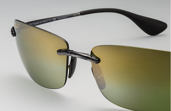 8e9324c485 Ray-Ban Rb4254 Chromance RB4254 Grey - Injected - Green Polarized ...