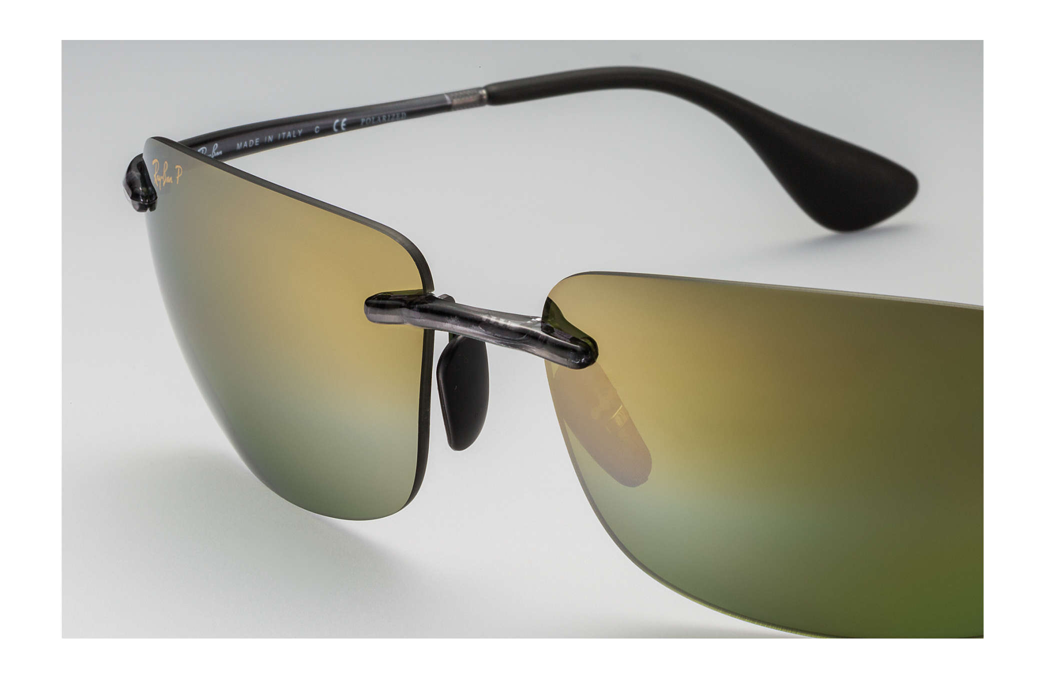 0ddba3d591 Ray-Ban Rb4255 Chromance RB4255 Grey - Injected - Green Polarized ...