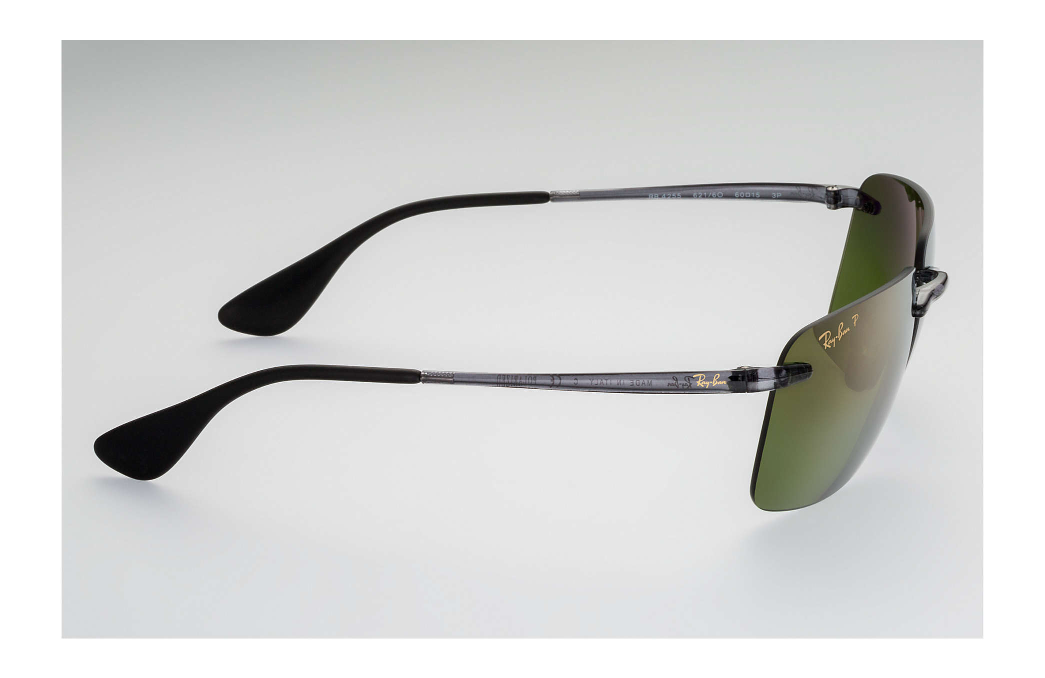 23c70a5e2a Ray-Ban Rb4255 Chromance RB4255 Grey - Injected - Green Polarized ...