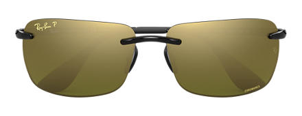 Ray-Ban RB4255 Chromance Grey with Green Mirror Chromance lens