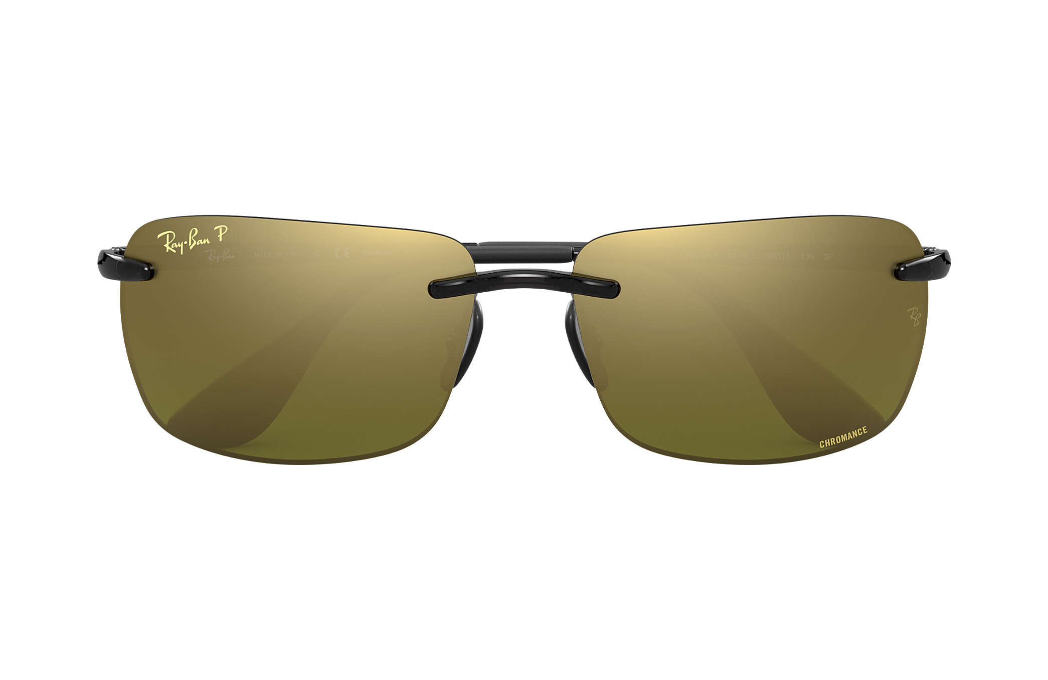 91c0c95029 Ray-Ban Rb4255 Chromance RB4255 Grey - Injected - Green Polarized ...