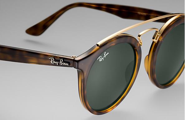678558d15b504 Ray-Ban Rb4256 Gatsby I RB4256 Tortoise - Propionate - Green Lenses ...