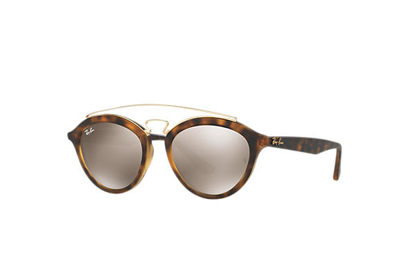 bfd6eeffde Ray-Ban Rb4257 Gatsby Ii RB4257 Tortoise - Propionate - Gold Lenses -  0RB425760925A53