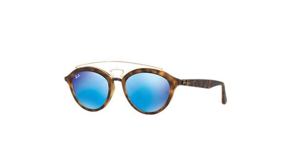 21b0ba7e07 Ray-Ban Rb4257 Gatsby Ii RB4257 Tortoise - Propionate - Blue Lenses -  0RB425760925550