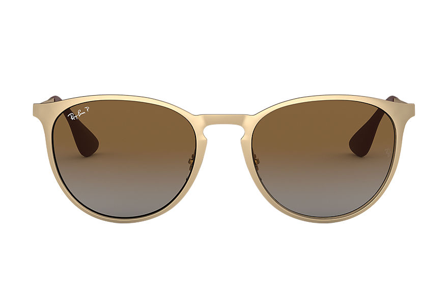 Ray-Ban  sunglasses RB3539 UNISEX 002 erika metal matte gold 8053672587692