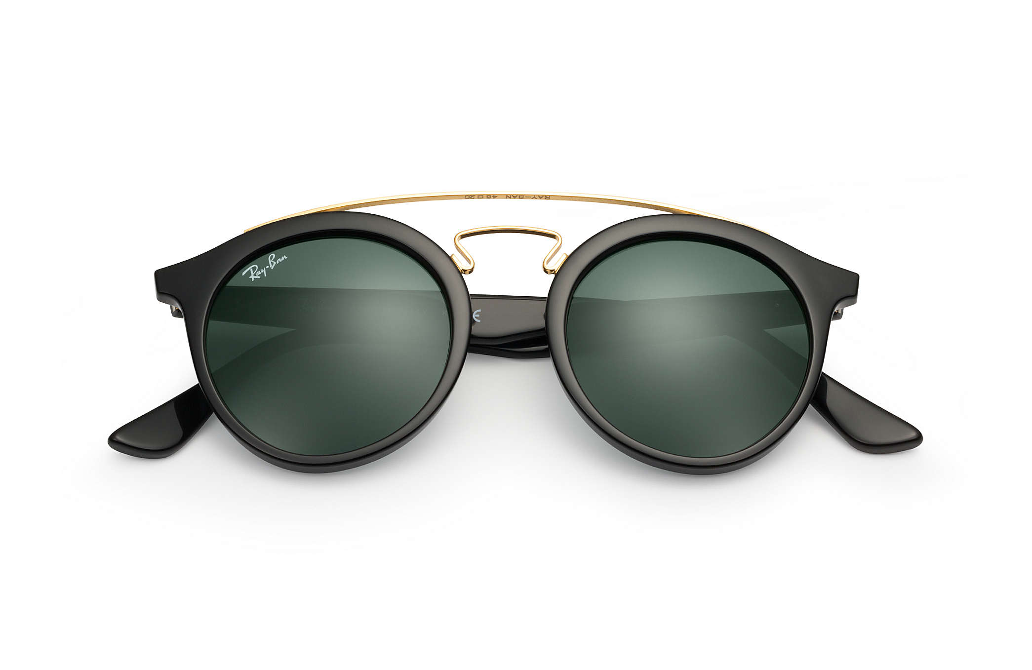 9ea6a977c9114 Ray-Ban RB4256F Black - Propionate - Green Lenses - 0RB4256F601 7147 ...