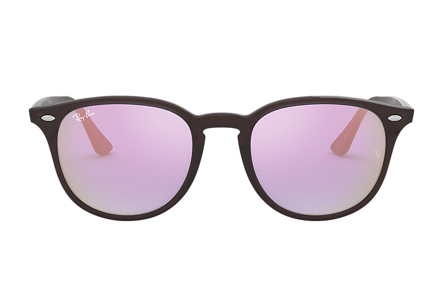 Ray-Ban RB4259 Brown with Blue Gradient Mirror lens