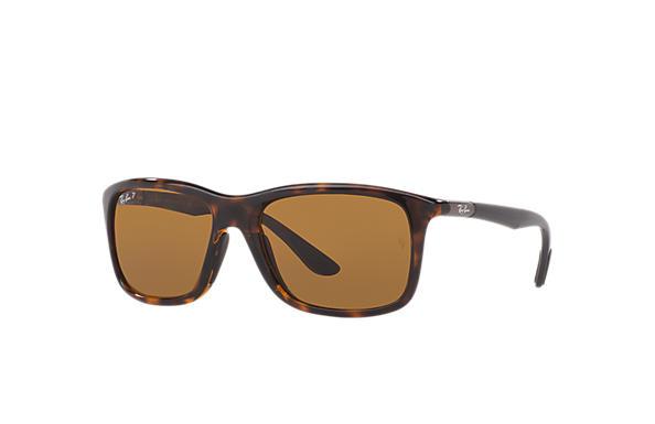 8987032efdf Ray-Ban RB8352 Tortoise - Nylon - Brown Polarized Lenses ...