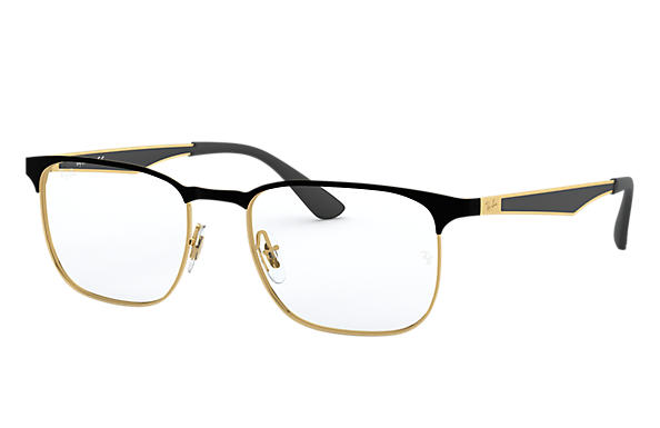 Ray-Ban 0RX6363-RB6363 Black,Gold; Gold,Black OPTICAL